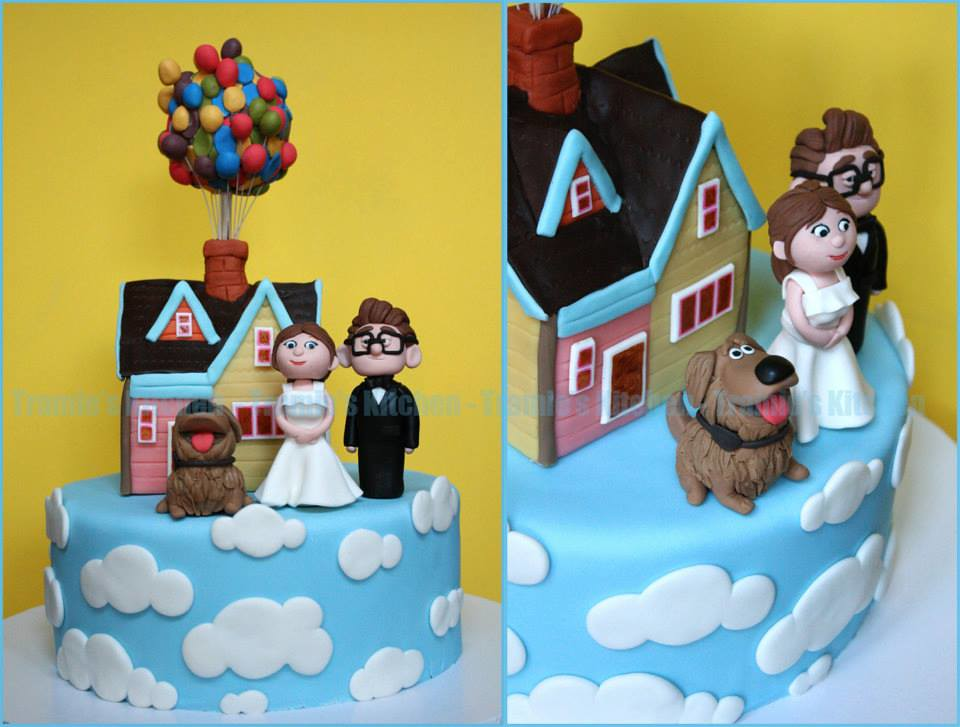 Up wedding cake | Congratulations to Terry and Tien! May you… | Flickr