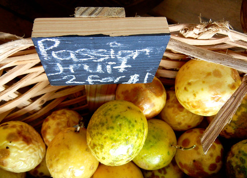 Now that's a great deal: Fresh passion fruit 2 for $1! | by Visions Service Adventures