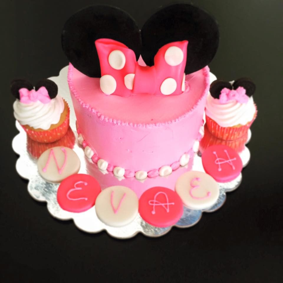 Minnie Mouse Cake Pittsburgh Pa Birthdaycakes4free Flickr