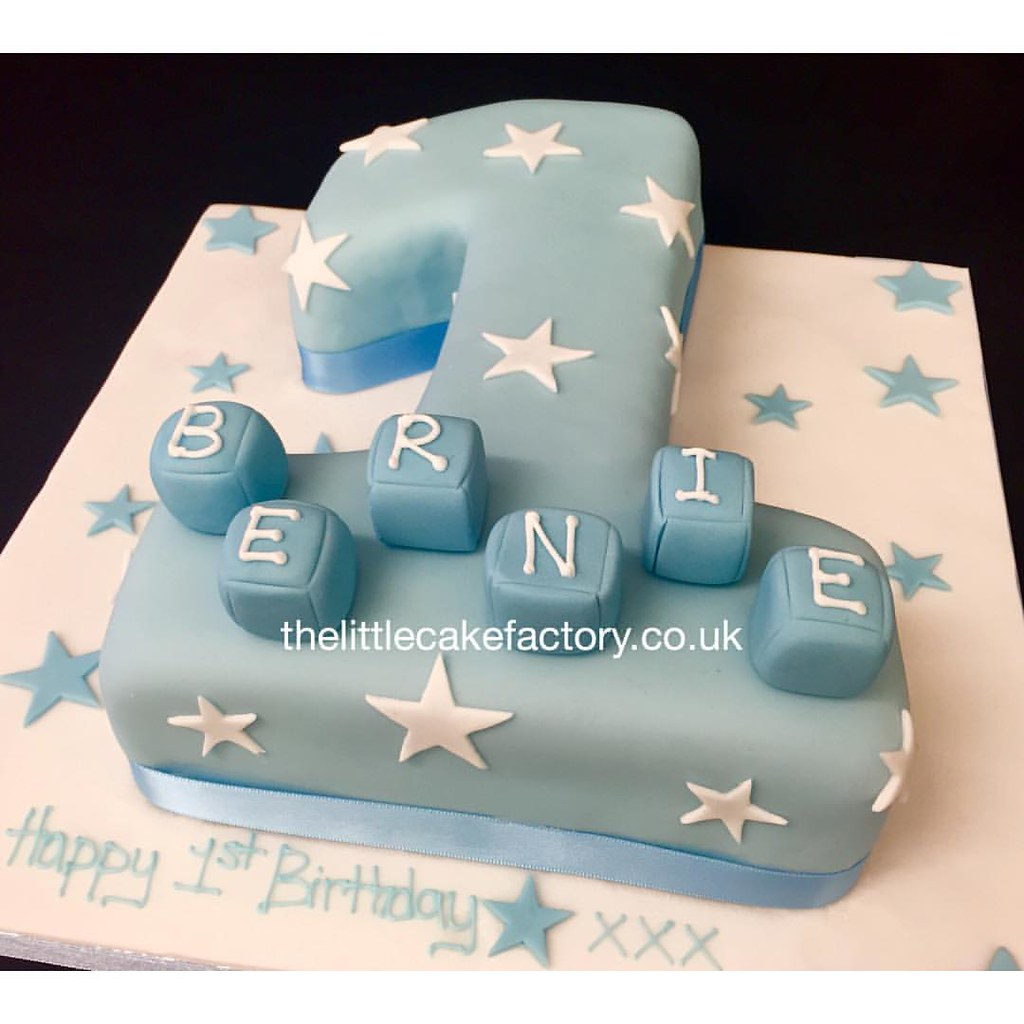 Number 1 Star Birthday Cake Number Number1 Birthdaycake Flickr