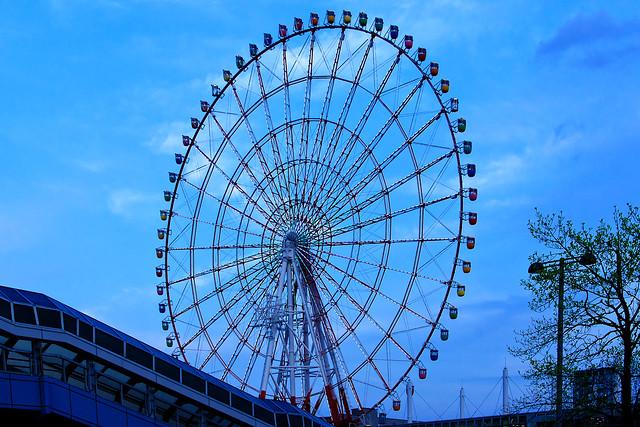 Palette Town Big wheel in Tokyo Odaiba : パレットタウン大観覧車