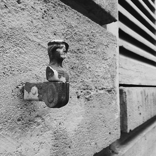 From the wall. #paris #bust #mini #sculpture... | by tiinateaspoon