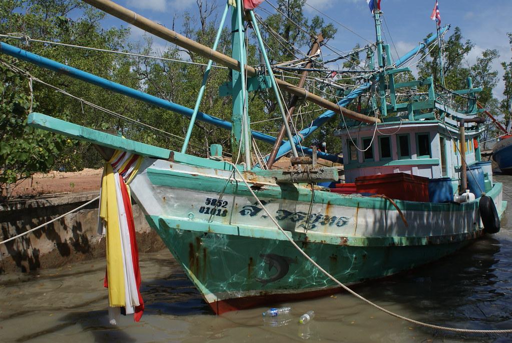 Bateaux de pêche à Koh Lanta