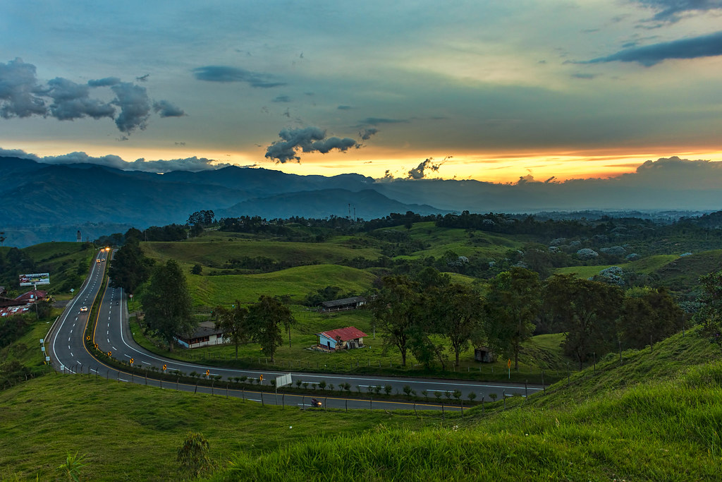Road Filandia Colombia