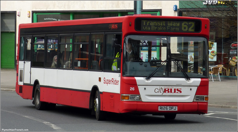 Plymouth Citybus 026 R126OFJ