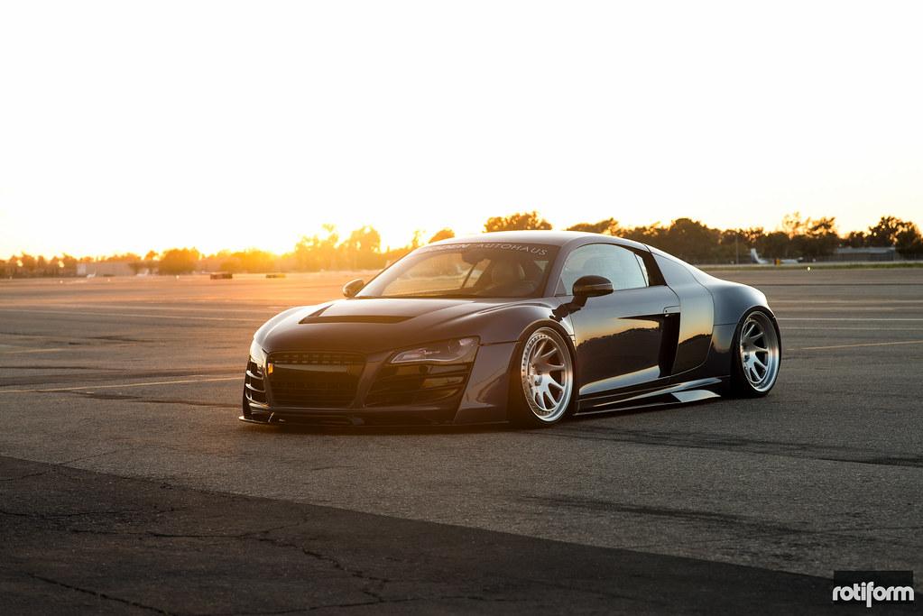 Prior Design Audi R8 Rotiform Ozt Boden Autohaus Flickr