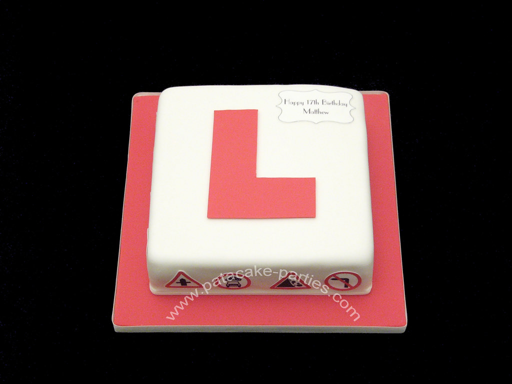 ... L Plate Cake | by Relznik & L Plate Cake | Quick cake for my sonu0027s 17th birthday. He lovu2026 | Flickr