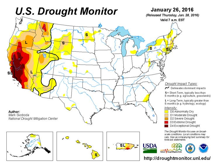 U.S. Drought Monitor Drought Assessment map | U.S. Drought M… | Flickr