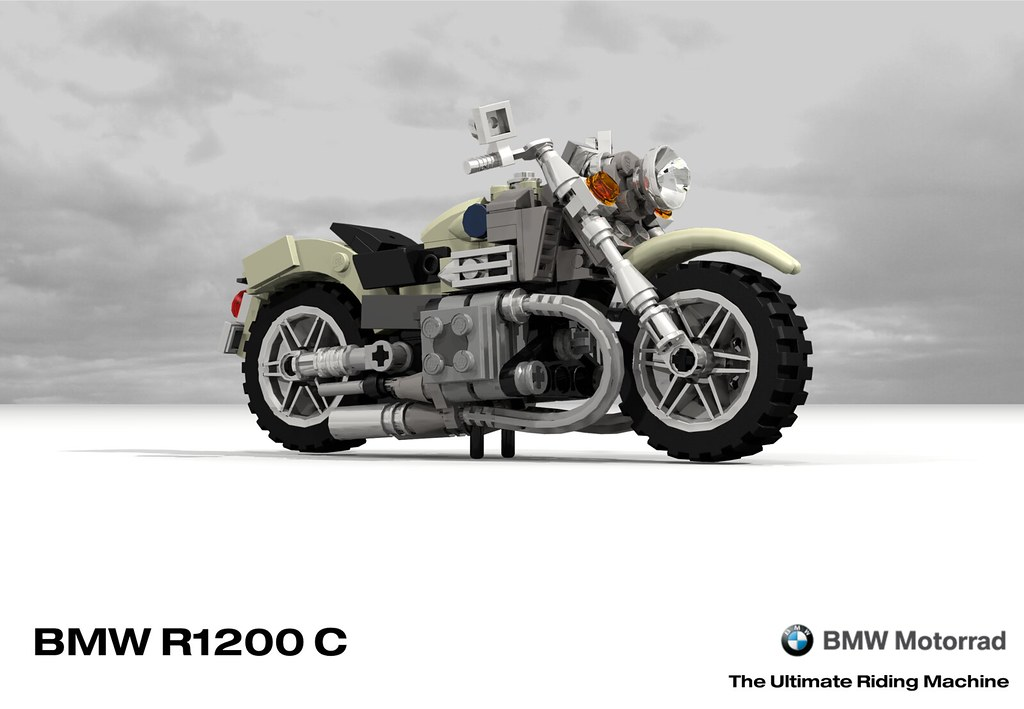 BMW R1200C Motorcyle James Bond