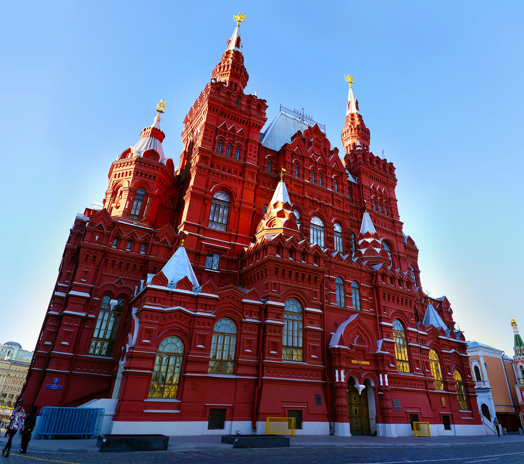 Historical Museum at Red Square, Moscow