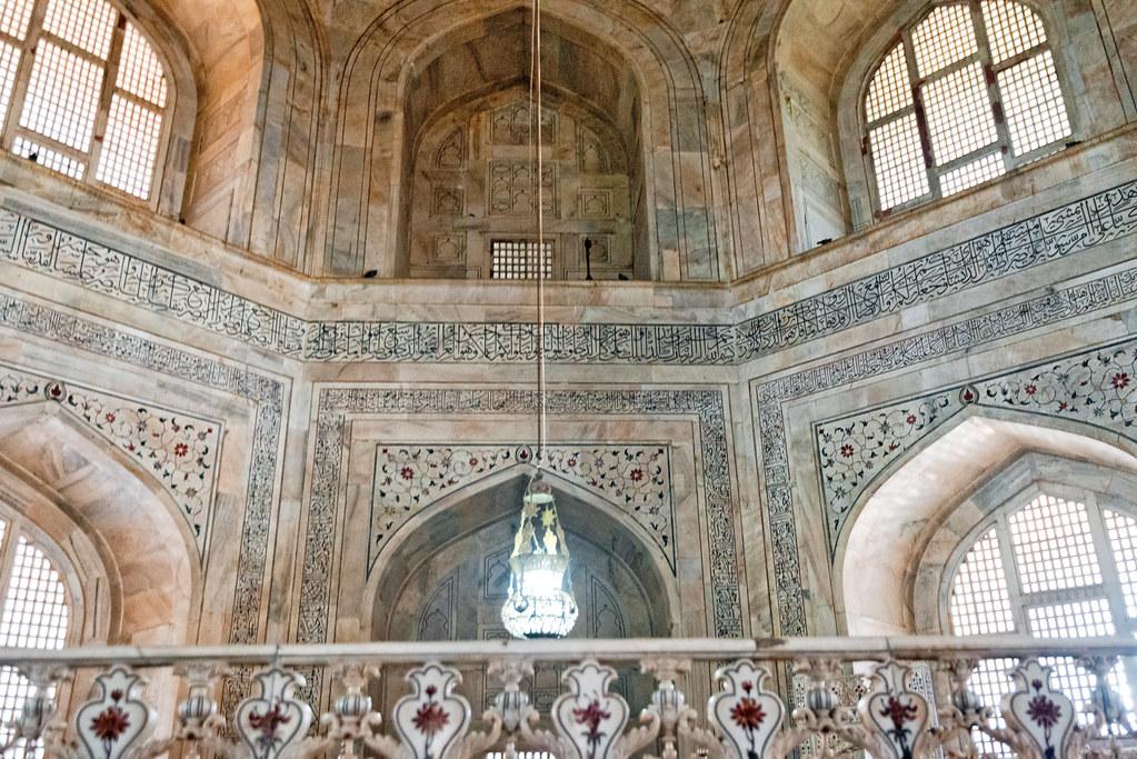Nice ... The Interior Of Taj Mahal, Agra, India | By CamelKW