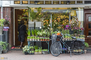 072 flower shop amsterdam 2 | by Eva Blue