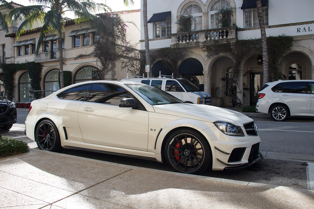 Mercedes Benz C63 Amg Black Series Spotted This Stunning C Flickr