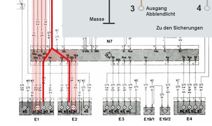 schaltplan LKG W124 | robert goepfert | Flickr