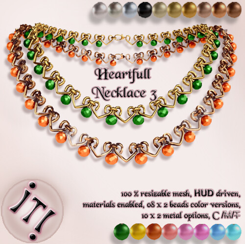 !IT! - Heartfull Necklace 3 Image