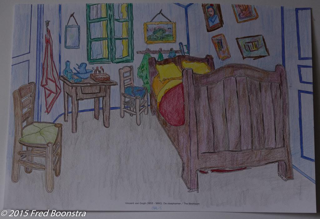 slaapkamer vincent van gogh | Vincent van Gogh Bedroom one o… | Flickr