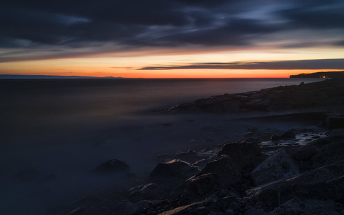 Sunset at Llantwit Major-8 copy | by singingsnapper