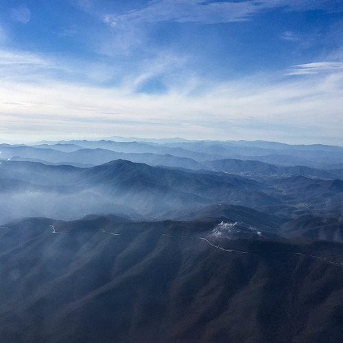 View of the Appalachian Mountains | by David Hilowitz