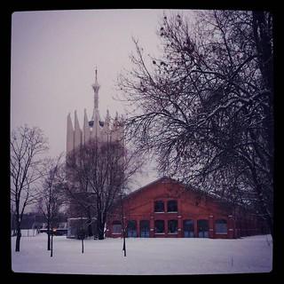 Сад Бенуа и Башня, #landmarks for #365days project