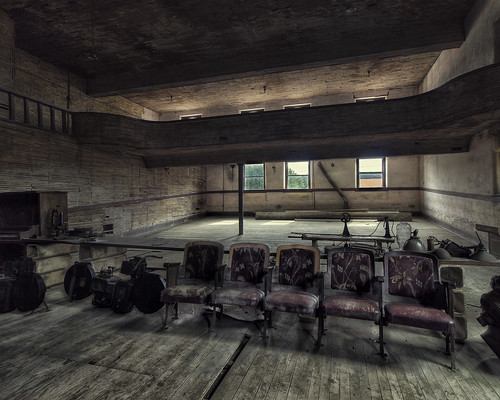 Balcony In The Tecumseh Theater | by Mark Spearman