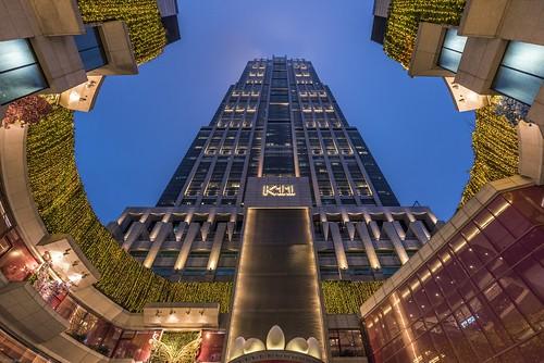 K11 Shanghai Blue Hour K11 Is A 61 Floor Skyscraper