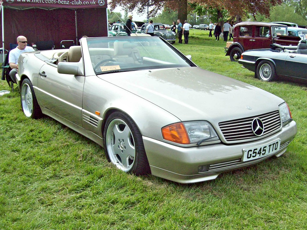 ... 196 Mercedes 500SL-32 (R129) (1990)   by robertknight16