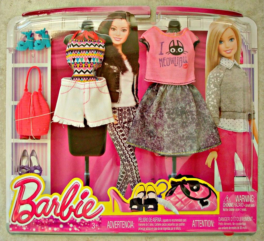 Dresses 2015 Barbie Fashion Packs