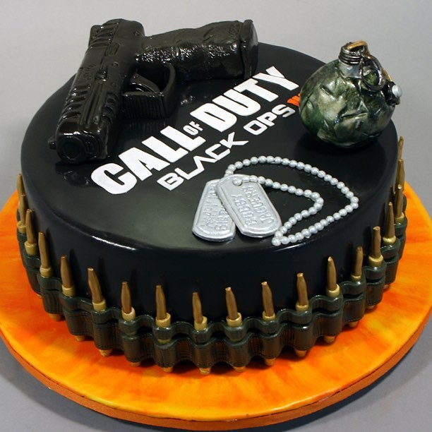 Call Of Duty Black Ops Iii 14th Birthday Cake Marksl110 Flickr