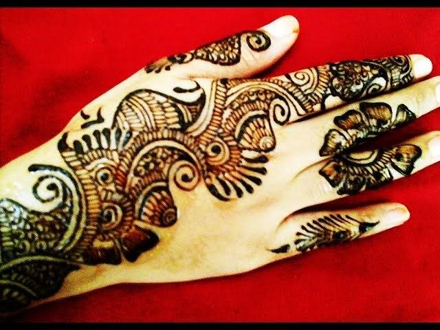 Simple Cute Arabic Mehendi Design Front Hand Simple Cu Flickr
