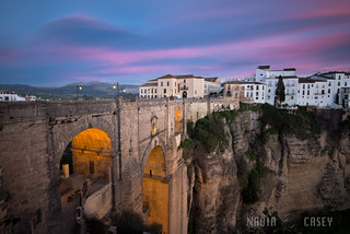 Pink Clouds - Ronda, Spain | by www.caseyhphoto.com