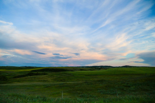 Sunset on the Alberta Prairies | by JustMeJuliaG