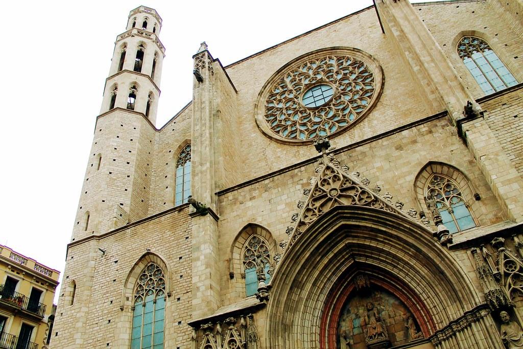 Drawing Dreaming - guia de visita de Barcelona - Santa Maria del Mar