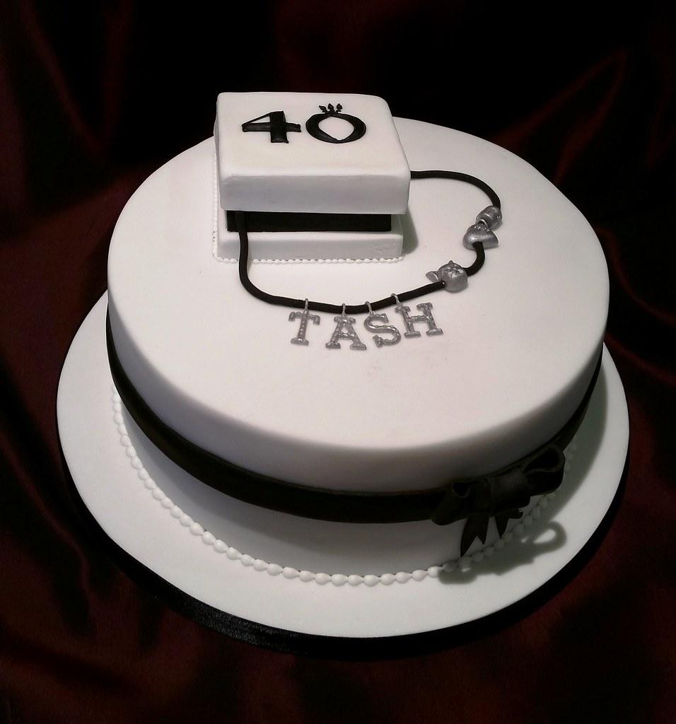 Pandora Cake 40th Chocolate Birthday Cake For A Friend Tur Flickr