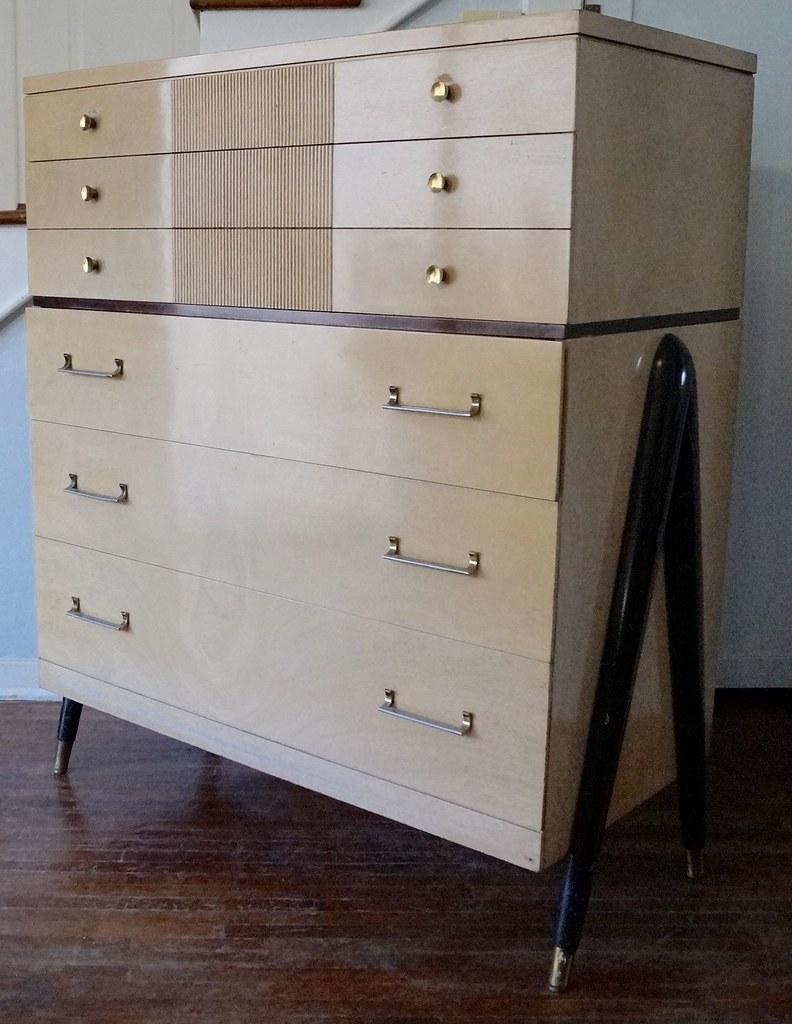 ... Mid Century Highboy Dresser By Sieling Modern Furniture | By Cyclic  Furniture