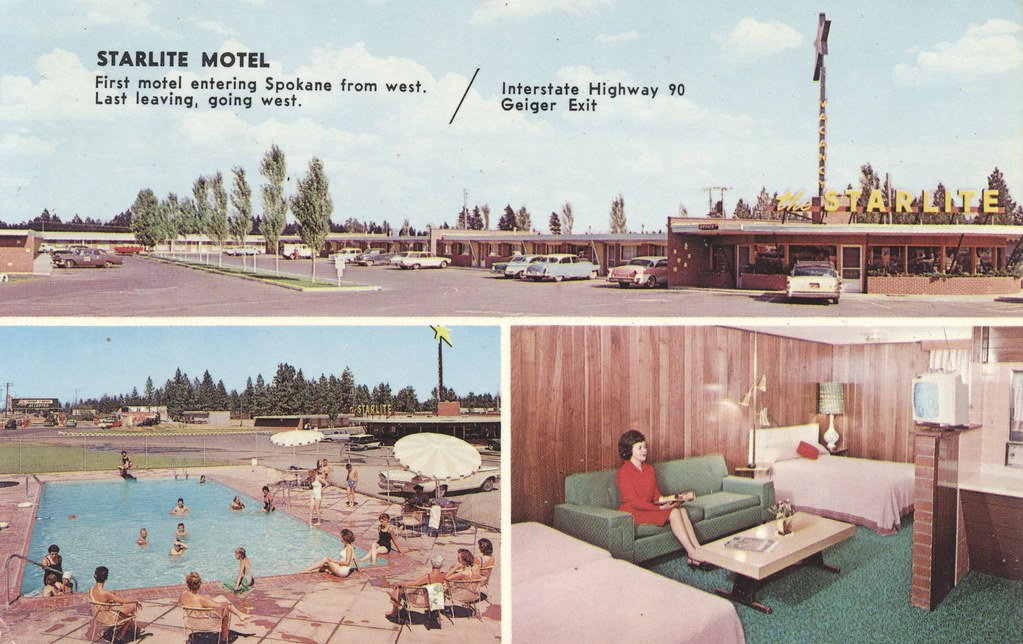 Starlite Motel - Spokane, Washington