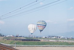 Baloon seen from KARATU-LINE(1601-1-000015)