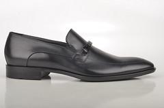 Boss Cheleso Slipper Loafer 50310959 Kalbsleder schwarz (black) (2) | by