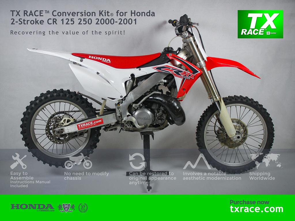 ... TX RACE™ Conversion Kit® for Honda 2-Stroke CR 125 250 2000-