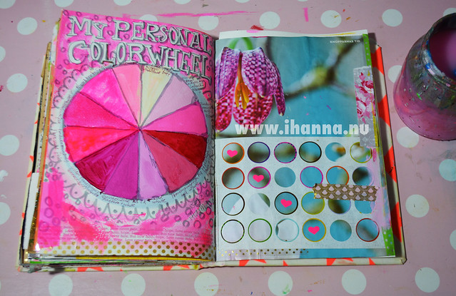 Workshop: Hacking the Color Wheel – Art Journaling for Creative Rebels