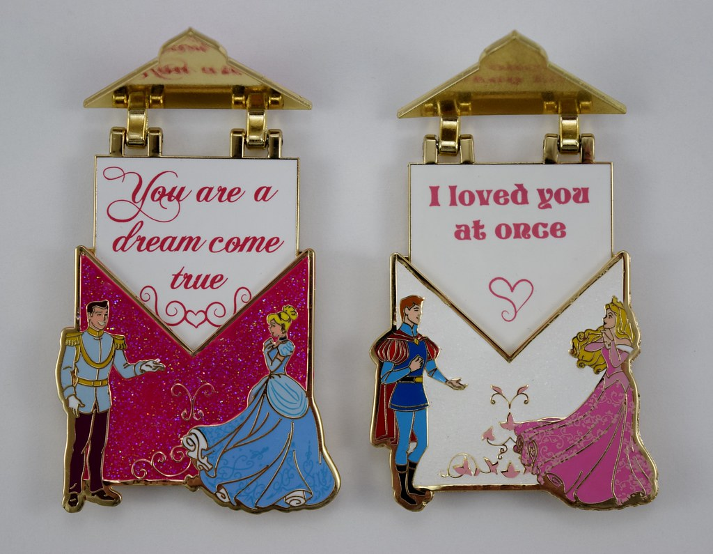 disney love letters pins of the month january and february 2016 loose opened