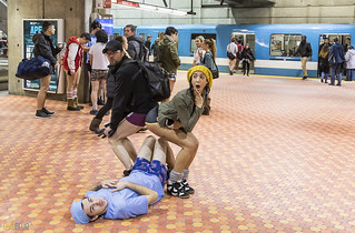 no pants subway ride montreal 2016 - 69 | by Eva Blue