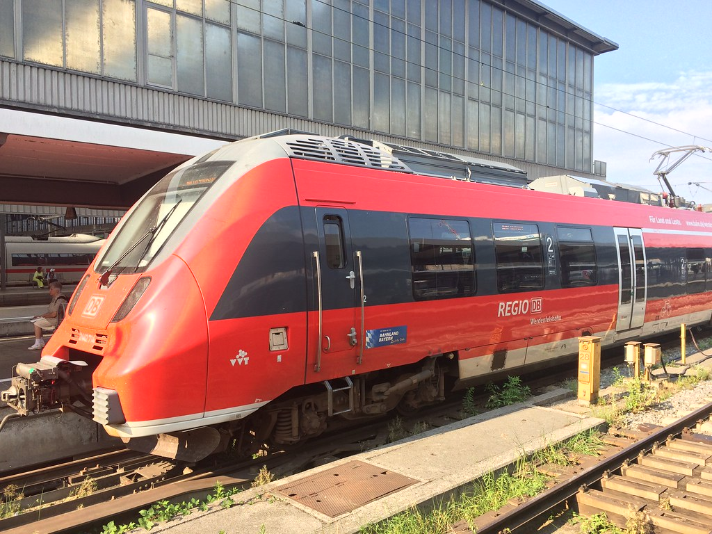 ... DB Regio Class 442 (Bombardier Talent 2) 2442 714 at Munich | by  growlinggabs