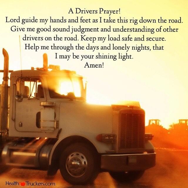 Truck Driver Gifts A Trucker's Prayer Trucker Gift 18