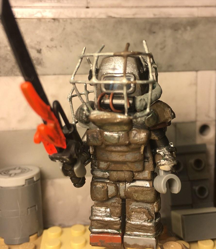 raider power armor repost i retook the photo because you flickr