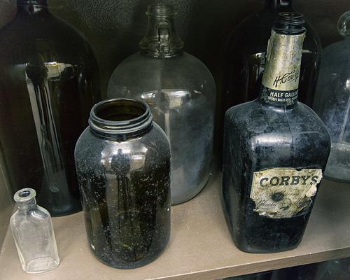 Antique Corby's Whiskey Bottle | by Mark Spearman