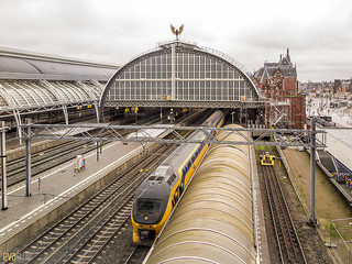 003 Amsterdam Centraal railway station 3 | by Eva Blue