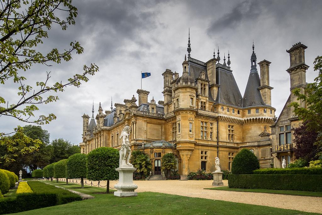 Waddesdon manor french château in england by bob radlinski