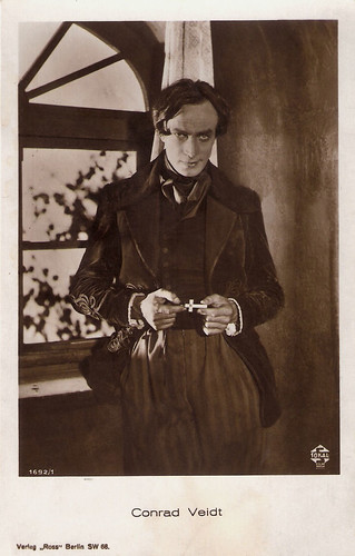 Conrad Veidt in Der Student von Prag (1926)