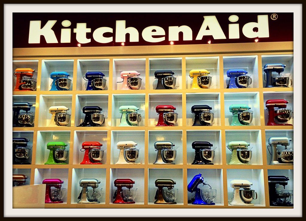 ... KitchenAid Display, Nebraska Furniture Mart, The Colony, Texas, 2016 |  By Altonjim