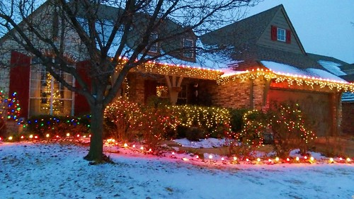 Home Christmas Lights - Impressions - Seurat Afternooon 35 pct